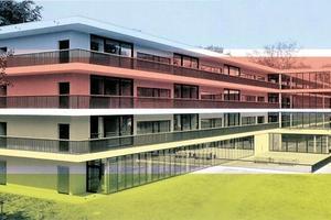Neubau Blindenschule im Sächs. Rehazentrum f. Blinde in Chemnitz