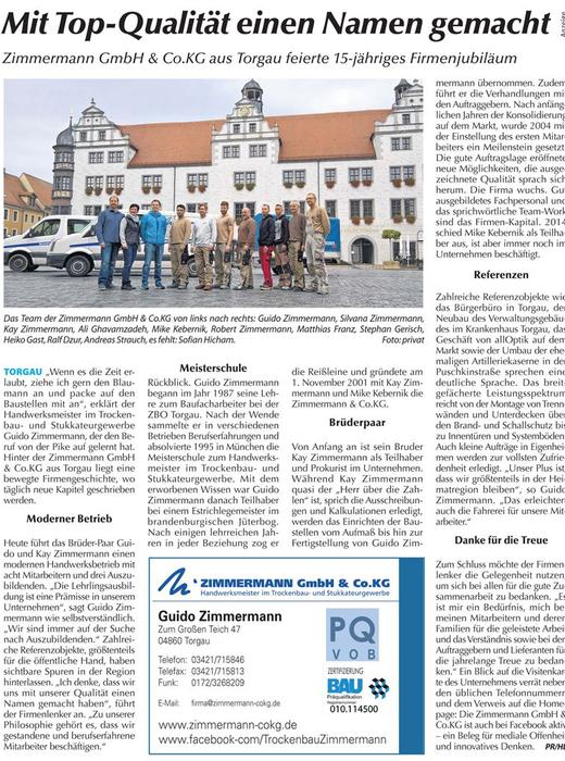 Zimmermann GmbH & Co.KG